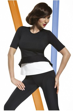 Bas Bleu Margo blouse short sleeve