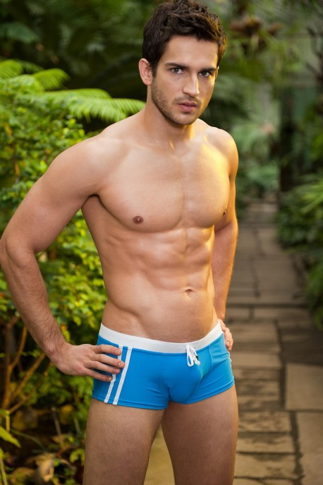 Alpha Male Sacco azur beachwear trunks