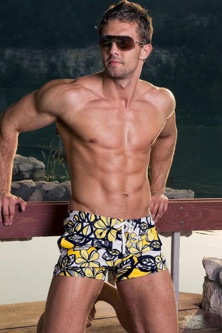 Alpha Male Hydro sun swim-shorts