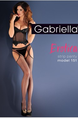 Tights Gabriella Erotica Strip Panty 151 Code 636