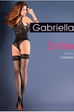 Stockings Gabriella Erotica Calze Linette Code 642