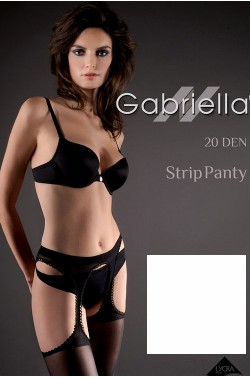 Gabriella Strip Panty Code 235 stockings