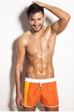 Swim-shorts Alpha Male Curso orange
