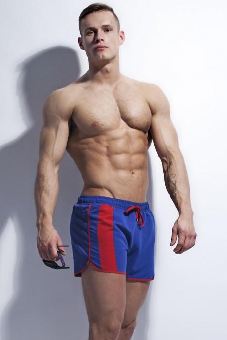 Swim-shorts Alpha Male Curso blue