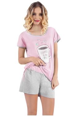 Pyjama Italian Fashion Coffee